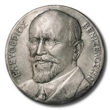 Greece Eleftherios Venizelos Crete 70 Years Since Annexation 1978 Silver Medal