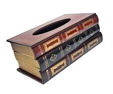 Bellaa 25150 Tissue Box Cover Rectangular Paper Holder Napkin Cover Dispenser.