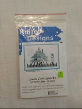 Vintage Hilite Designs Counted Cross Stitch Kit Hooper Straight Lighthouse