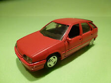 SOLIDO 1:43 CITROEN ZX - RED  - RARE SELTEN - GOOD CONDITION