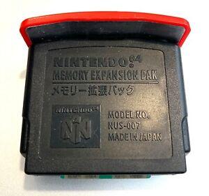 Nintendo 64 Expansion Pak Official N64 Memory OEM Original NUS-007 Authentic!