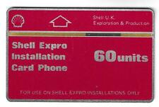 Phonecard, smartcard, 280 shell red,  control  512B