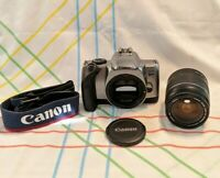 Canon EOS Rebel K2 35 mm Film Camera with EF 28-80 mm Lens | FULLY TESTED. CLEAN
