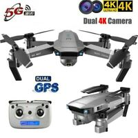 Clone DJI Mavic 2 Drone!SG907 5G WIFI GPS With 4K Dual HD FPV Camera Quadcopter