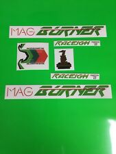 Raleigh Burner Mag Burner Decals