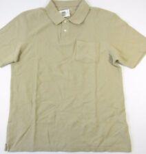 John Ashford Delhi Khaki 100% Cotton Casual Polo Shirt 4XLT