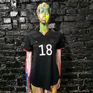 Goretzka Germany Team Jersey  Away shirt 2020 - 2022 Adidas EH6115 Woman Size S
