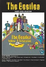 The Beatles Yellow Submarine Album Cover Bordered Postcard Fan Gift Official
