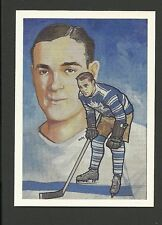 Charlie Conacher Toronto Maple Leafs 1987 Hockey Hall of Fame Cartophilium Card