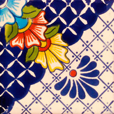 C#123)) MEXICAN TILE SAMPLE WALL FLOOR TALAVERA MEXICO CERAMIC HANDMADE POTTERY