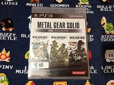 Metal Gear Solid HD Collection BRAND NEW SEALED  (Sony PlayStation 3, 2011)
