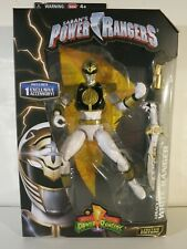 Saban's Mighty Morphin Power Rangers Legacy Collection WHITE RANGER - NIB! RARE!