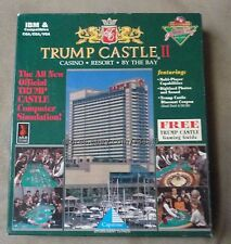 "DONALD TRUMP CASTLE II Casino Game IBM PC DOS 2.1+ 5.25"" Floppy Disk"