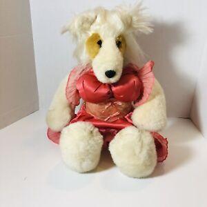 "Vintage 1985 North American Bear Co. 18"" Collie (Dollie) Parton"