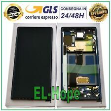 DISPLAY LCD ORIGINALE SAMSUNG GALAXY NOTE 10 SM-N970 N970F TOUCH SCREEN NERO