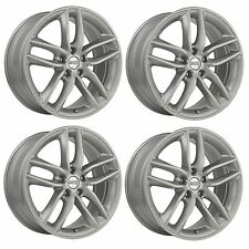 4 x BBS SX Brilliant Silver Alloy Wheels - 5x108 | 18x8"
