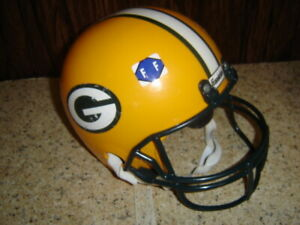 Child Toy Franklin Green Bay Packers Youth Size Football Helmet For Costume  FF