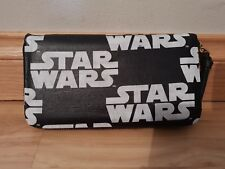 Custom - star wars logo themed- wallet purse clutch