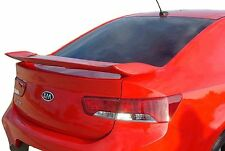 PAINTED SPOILER FOR A KIA FORTE COUPE KOUP 2-POST 2010-2013