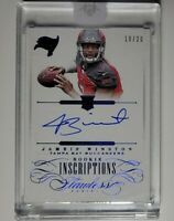 2015 Panini Flawless Jameis Winsto AUTO /20 ROOKIE INSCRIPTIONS SAINTS BUCS SP