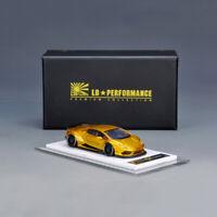 1:64 LB Liberty Walk Lamborghini Huracan LP610-4 Gold Resin Car Model Limited