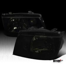 For 1999-2005 VW Jetta MK4 Assembly Black Smoke Headlights Head Lamps Left+Right