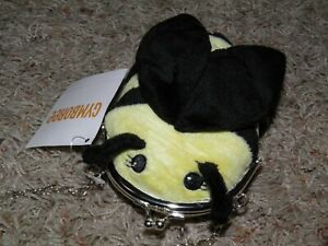 "GYMBOREE ""Bee Chic"" Plush Purse~ NEW!"