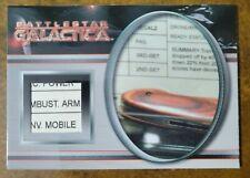 Battlestar Galactica 4 Relic Prop Card R1 #324/350