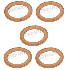 NEW Set of 5 Oil Drain Plug Washer Copper Crush Seal 14 X 20 X 1.5 mm N0138492