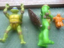 """2 x Teenage Mutant Ninja Turtles Toys (12cm / 5 """")"""