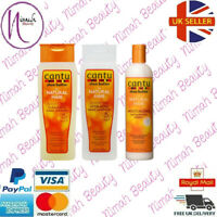Cantu Shea Butter Shampoo &Conditioner 400mlwith Curl Activator Cream 12oz/355ml