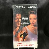 VHS Movie VCR Tape – The Specialist Sylvester Stallone Sharon Stone