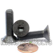 M8-1.25 x 30mm - Qty 10 - FLAT HEAD Socket Cap Screws Countersunk CL 12.9 M8