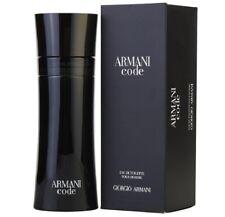Giorgio Armani Code For Men Cologne 6.7 oz ~ 200 ml EDT Spray