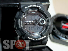 Casio G-Shock Garish Black Men's Watch GD-100BW-1  GD100BW 1