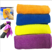 4 Microfibre Cloth Absorbent Cleaning Dusting Soft Multi Purpose Home Kitchen