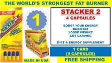 1 STACKER2 2 WORLD'S STRONGEST FAT BURNER DIET 3 ENERGY SPECIALIST 4 Capsules