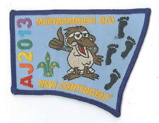 AJ2013 - AUSTRALIA SCOUT JAMBOREE - NEW SOUTH WALES NSW SCOUTS CONTINGENT BADGE