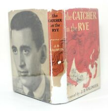 Catcher in the Rye J D Salinger 1951 Little Brown Vtg First Book Club Edition !!
