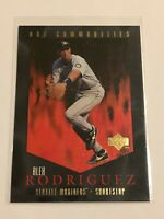 1997 Upper Deck Baseball Hot Commodities - Alex Rodriguez - Seattle Mariners