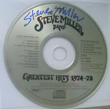Steve Miller Band Signed Auto Rare CD Autographed Greatest Hits 1974-1978