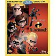The Incredibles (4-Disc Blu-ray/DVD Combo+DC)  Blu Ray
