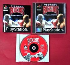 Victory Boxing Challenge - PSX - PS1 - PLAYSTATION - USADO - EN MUY BUEN ESTADO