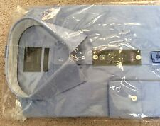 "BNWT M&S MEN SHIRT COLLAR SIZE 16.5""/42cm  TAILORED  FIT 100% COTTON"