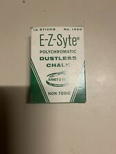 EZ Syte Dustless School Beige Chalk Board No. 1420 Vintage Binney Smith