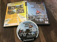 Mountain Bike Adrenaline (Sony PlayStation 2, 2007) Used Free US Shipping