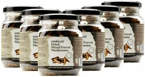 Cooks & Co Dried Mixed Forestier Mushrooms 40g (Pack of 6)