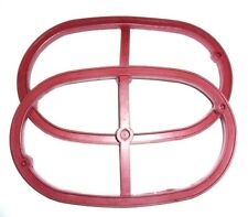 Cylinder head cover Gasket (red), 2 pcs for Ural (650 cc)
