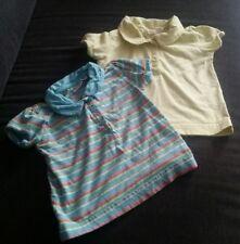 Top! Baby T-Shirt Gr. 74/80 Set *2 Stück* gelb blau Sommer Impidimpi Mädchen