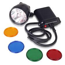 80000LUX CREE 10W XML U2 LED Coyote Hunting Mining Headlamp Light 11000mAh US